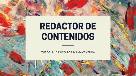 tutorial de redacción de contenidos
