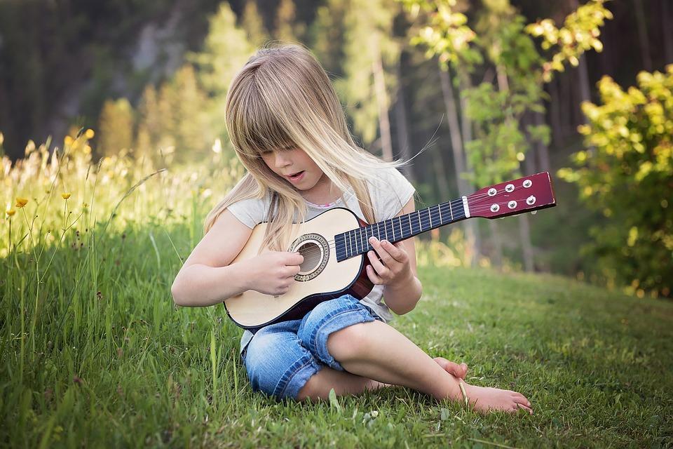 música para niños como actividad extraescolar