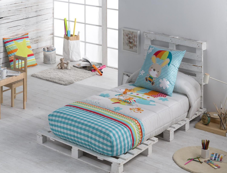Edredón ajustable para camas infantiles Globus de JVR