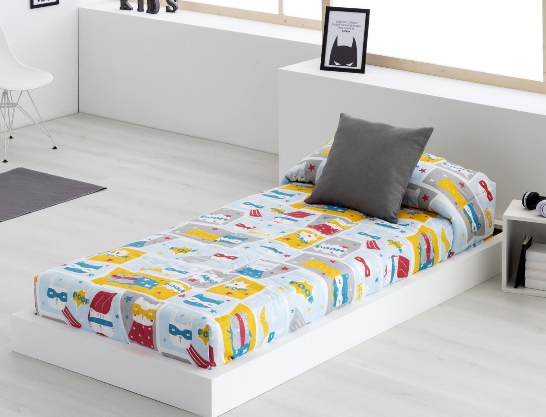 Edredón ajustable para camas infantiles Héroes de Sansa