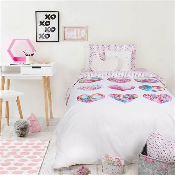 Funda nórdica para camas infantiles LOVE PAINT