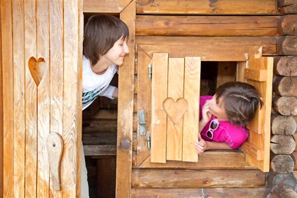 Juego de casitas para niños