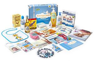 Canastilla muestras gratis para bebés de Caprabo