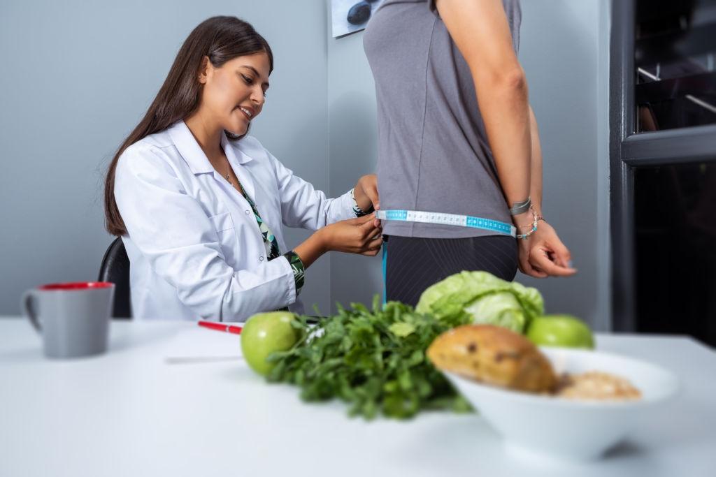 Revisión dietista después del parto