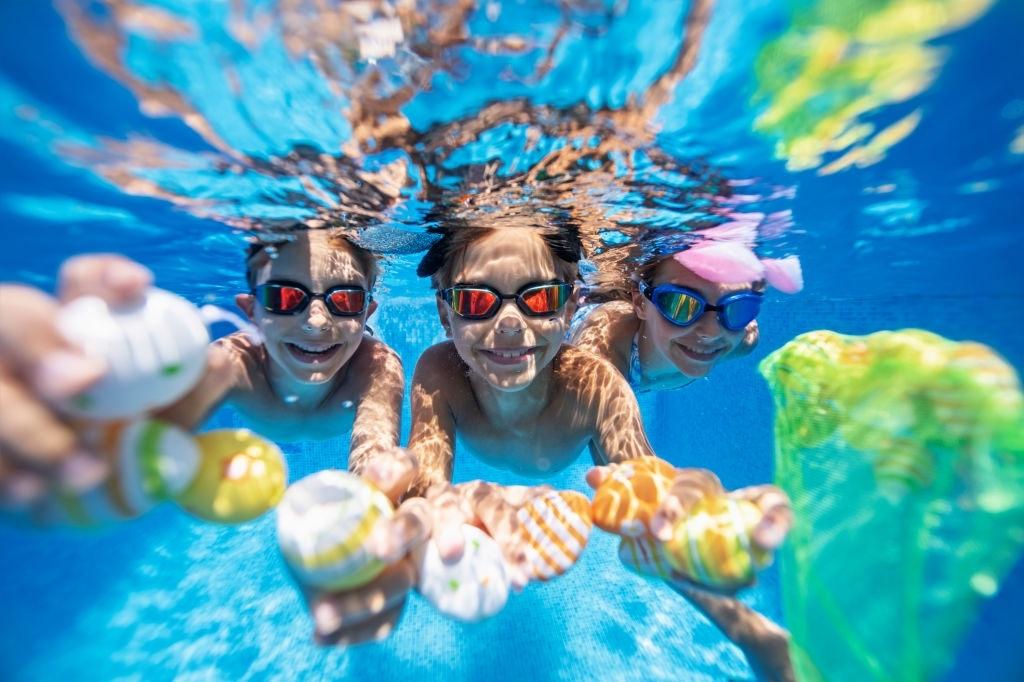 juegos para piscina niños