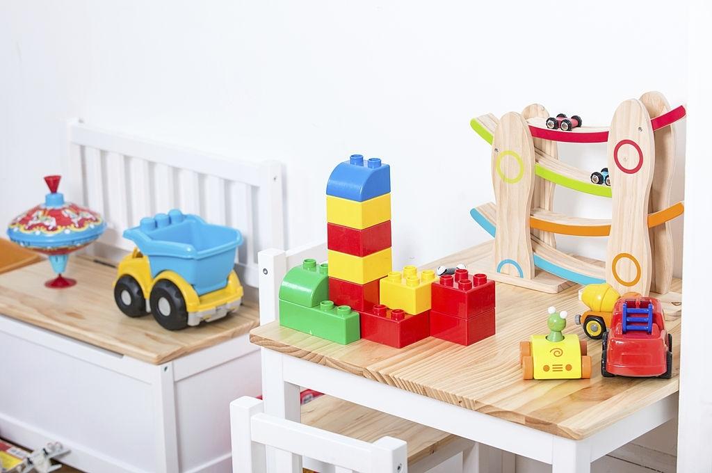 Baúl para guardar juguetes
